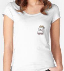 Mac Demarco 3 Women's Fitted Scoop T-Shirt