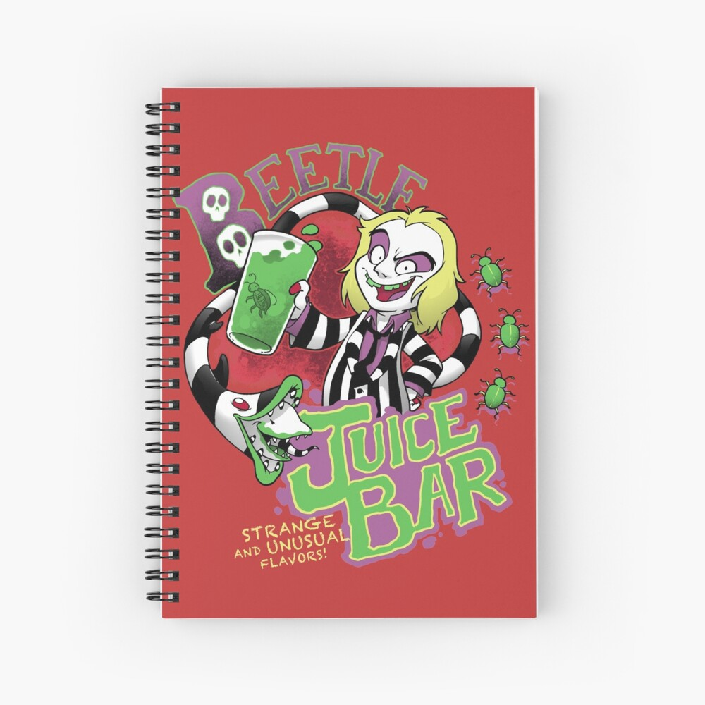 Juice! Spiral Notebook