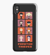 Pixel Phantom Thieves - Persona 5 iPhone Case/Skin