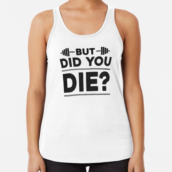 Fitness Tank Top Don\u2019t give up Tank Top with Saying Fitness Inspiration