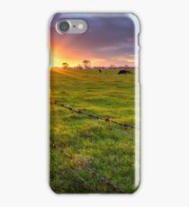 Rural Sunset... iPhone Case/Skin