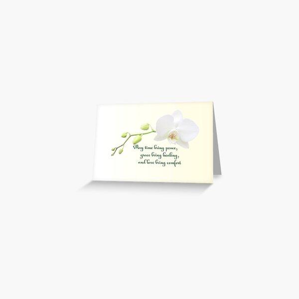 May time bring peace ... Greeting Card
