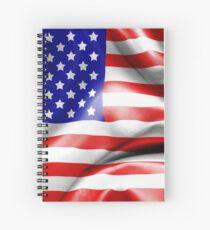 Usa Flagge Spiralblock