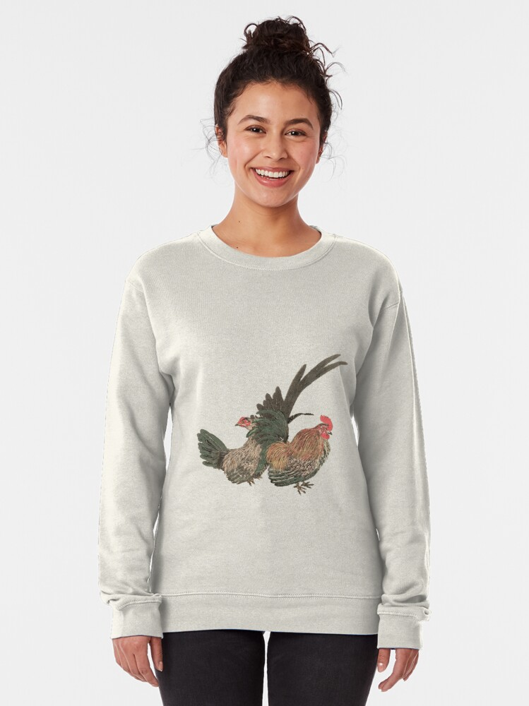 Alternate view of Messenger of the gods (chartreuse0 Pullover Sweatshirt