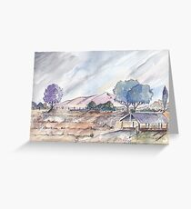Farm shed in Magaliesburg Greeting Card