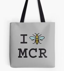 I love Manchester Tote Bag