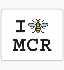I love Manchester Sticker