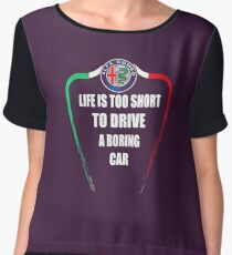 Alfa Romeo Women's Chiffon Top