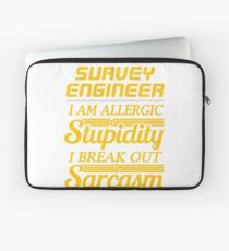 survey engineer Laptop Sleeve