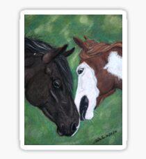 Deux chevaux Sticker