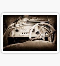 1925 Aston Martin 16 Valve Twin Cam Grand Prix  -0790s Sticker