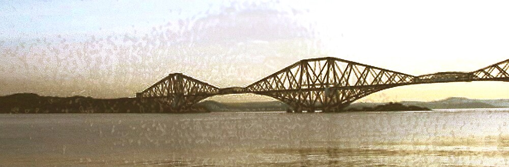The Fifth of Forth (Rail Bridge) Scotland by Paul Lindenberg
