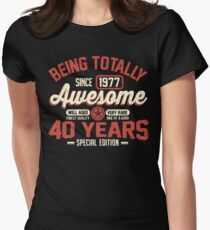 Born in 1977 Womens Fitted T-Shirt