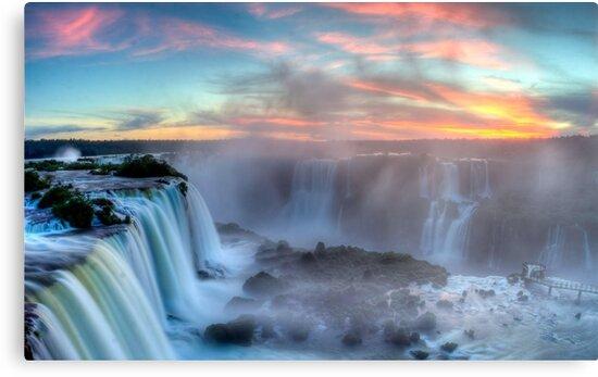 Iguazu Falls - Argentina by EvilGeniusBaby