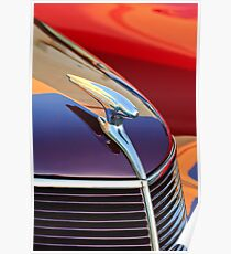 Ford Hood Ornament 1937 -0306c Poster