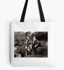 Vintage Cinema Hollywood Tote Bag