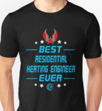 residential heating engineer - solve and travel design Unisex T-Shirt