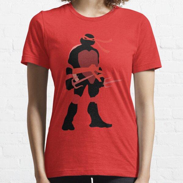 TMNT SILHOUETTES - Classic Raphael Essential T-Shirt