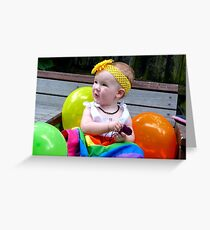 Rainbow Birthday Girl - Christchruch Greeting Card