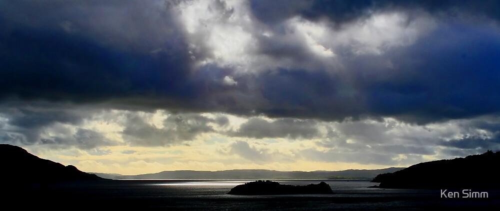 Loch Corum, (Over the sea to Skye) by Kenart
