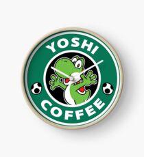 Yoshi Coffee Clock