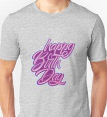 Happy Birthday letters T-Shirt