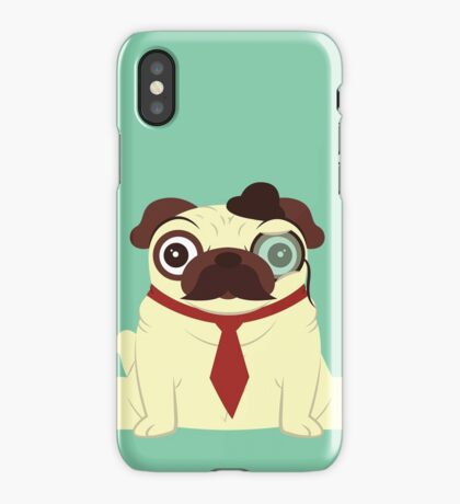 Pug in a Hat iPhone Case