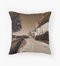Loches  Throw Pillow