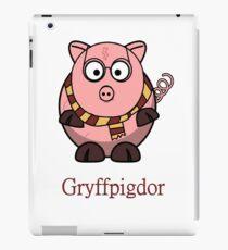 Piggy Cerdo Cerdito Gryffindor Harry Potter Nerd iPad Case/Skin