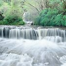 Waterfall Wentworth Falls by Brett Thompson