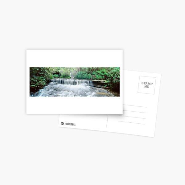 Waterfall Wentworth Falls Postcard