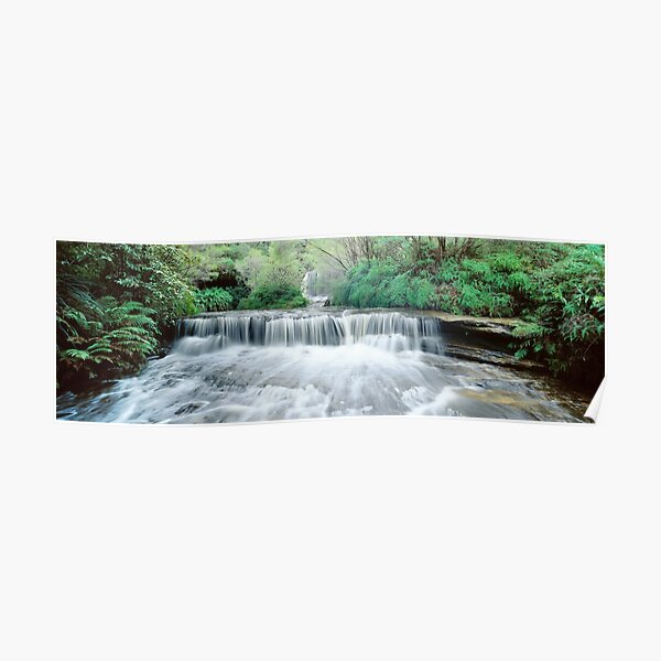 Waterfall Wentworth Falls Poster