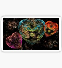 Colours Of The Heart. Sticker