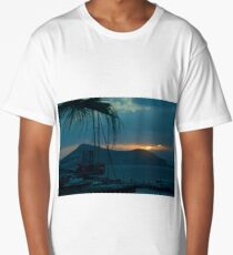 Sunset Naxos 2 Long T-Shirt