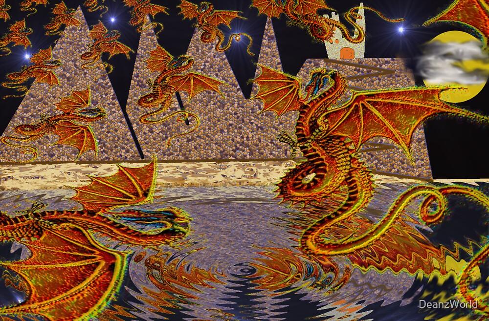 Dragon Swarm by Dean Warwick