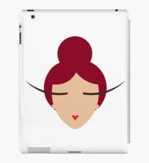 Love, Red Haired Doll iPad Case/Skin