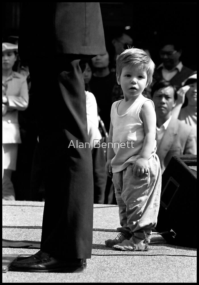 Boy on Stage by Alan Bennett