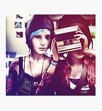 Chloe & Max - Life is Strange Photographic Print