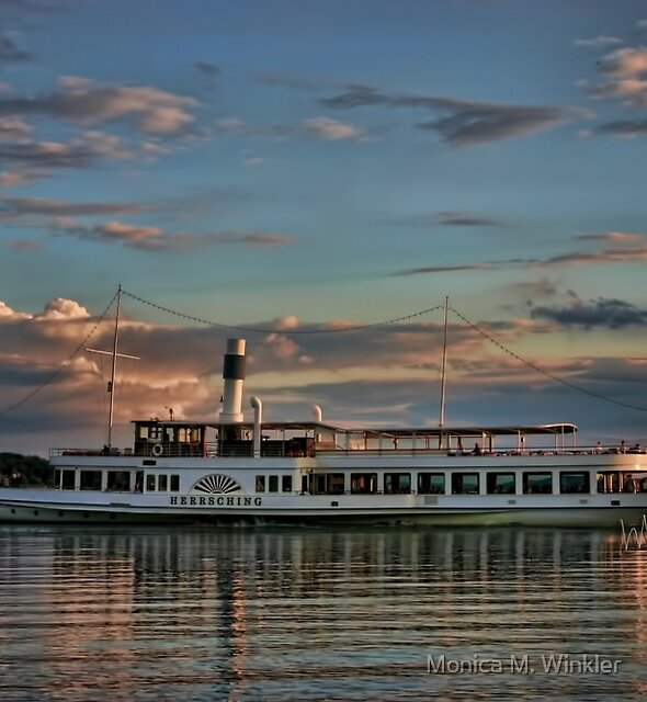 Bavarian Steamboat by Monica M. Winkler
