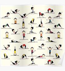 Yoga Pants Bali Ubud Poster