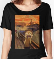 Rick and Morty The Scream Women's Relaxed Fit T-Shirt