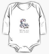 Alice floral designs - Cheshire cat all mad here Kids Clothes