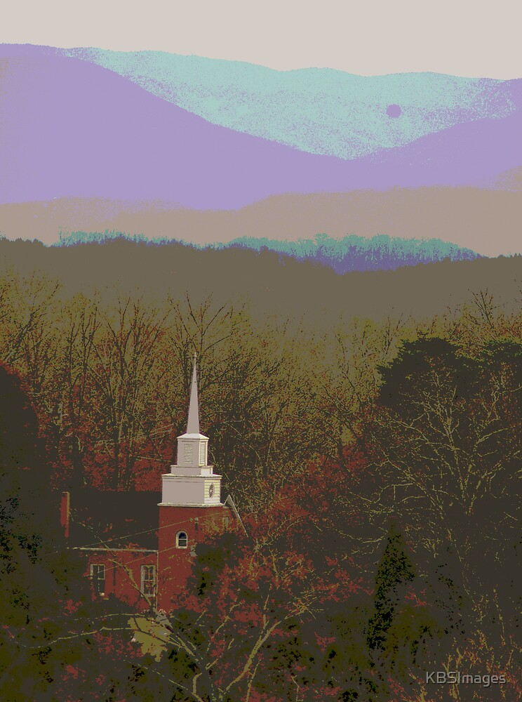 Chapel in the Mountains by KBSImages