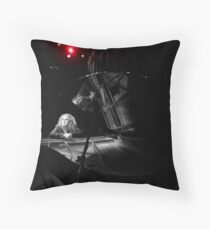 Tim Minchin - Black & Whites Throw Pillow