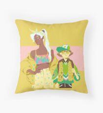 80s Voltron : Girls Throw Pillow