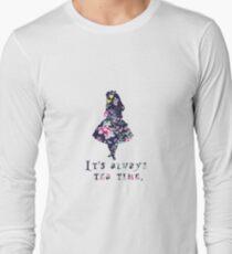 Alice floral designs - Always tea time T-Shirt