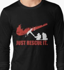 just rescue it fire fight t-shirts Long Sleeve T-Shirt