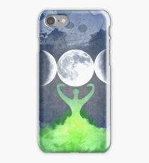 Mother Earth Goddess Moon iPhone Case/Skin