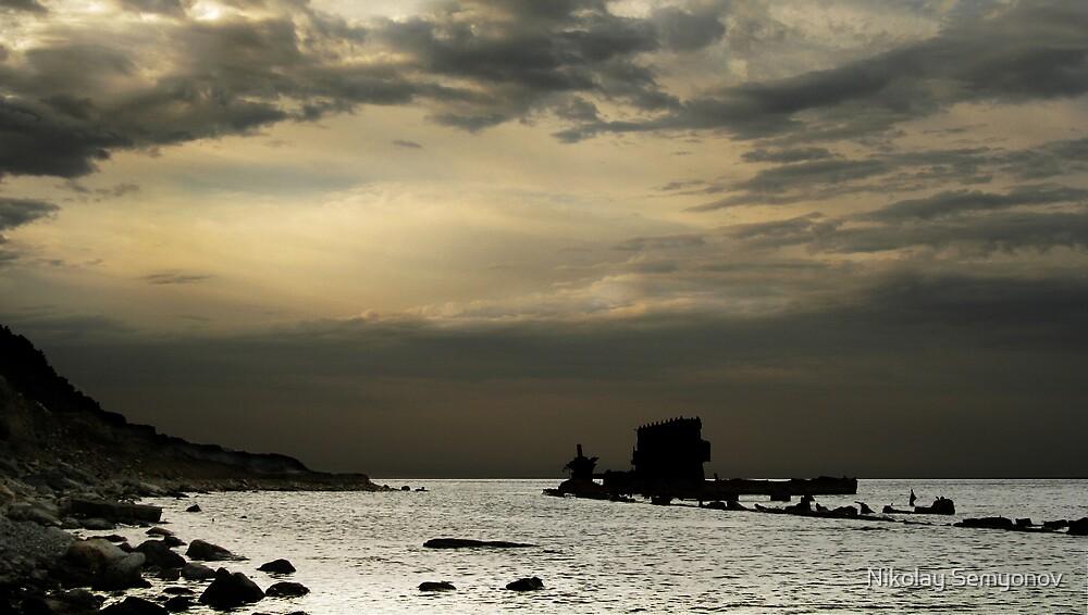 Wreck by Nikolay Semyonov