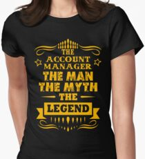 ACCOUNT MANAGER Women's Fitted T-Shirt